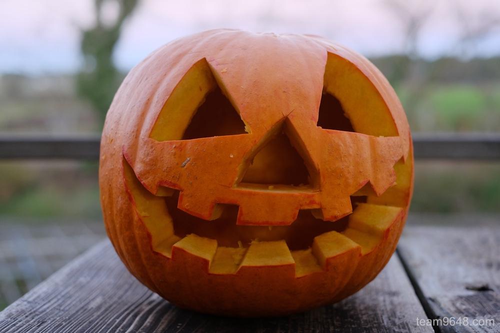 かぼちゃ ランタン ハロウィン