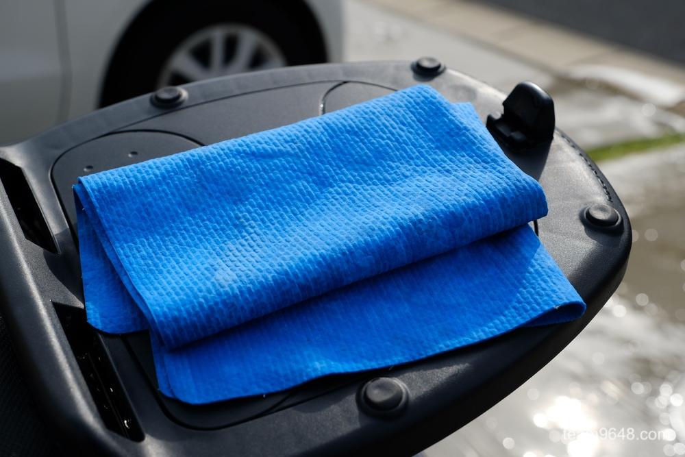 バイク GROM 洗車