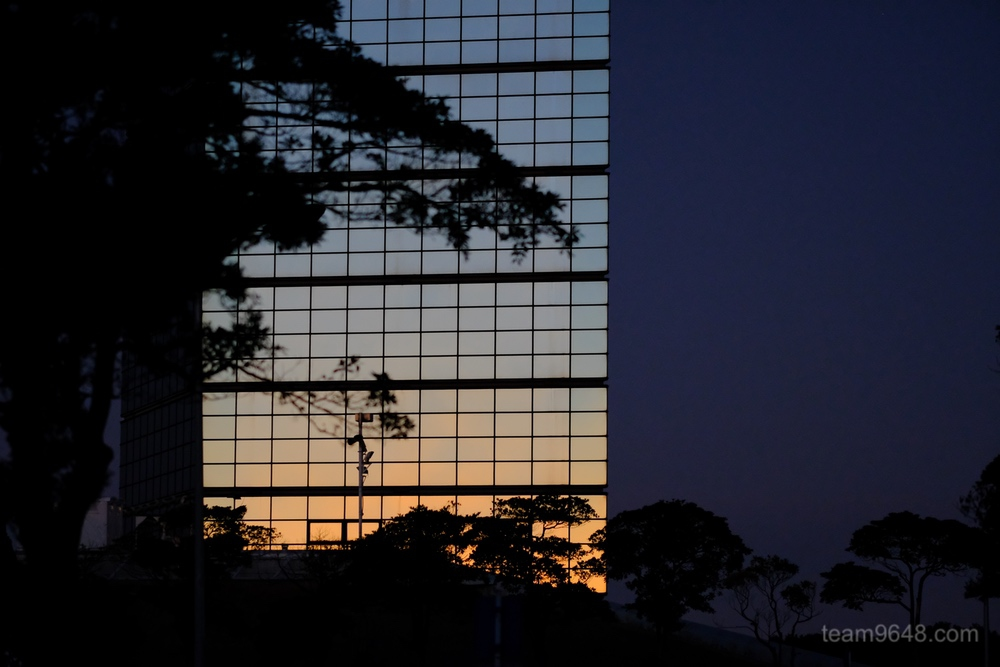 千葉ポートパーク 早朝