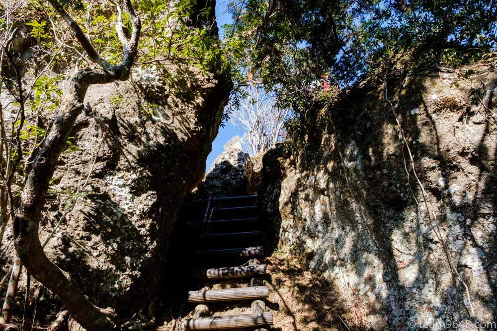 高宕山 登山道