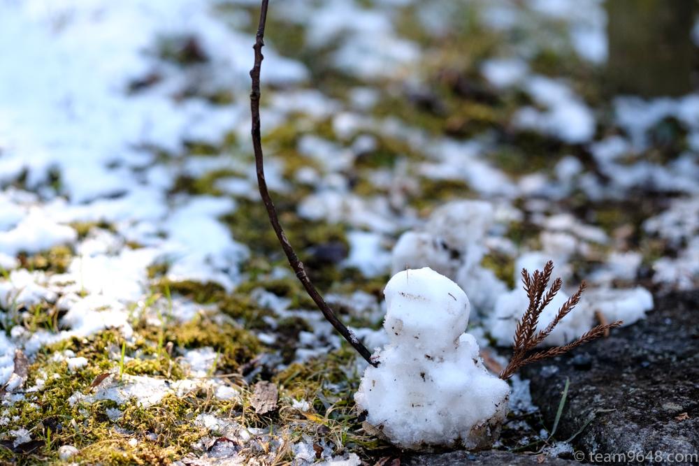 子ども 雪遊び