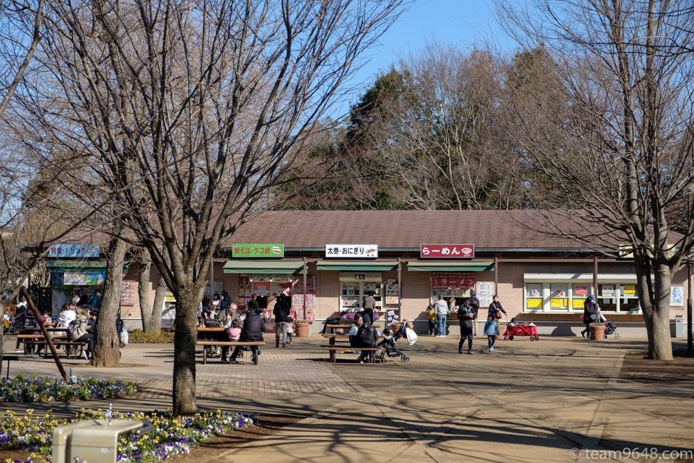 アンデルセン公園 売店