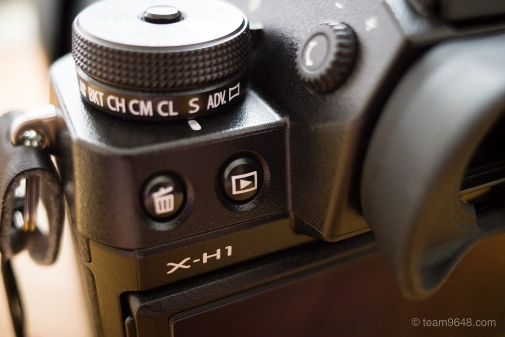 X-H1 メンテナンス