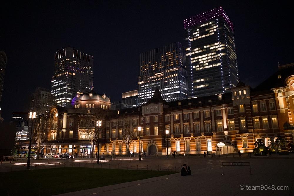 GR3 作例 夜間 東京駅