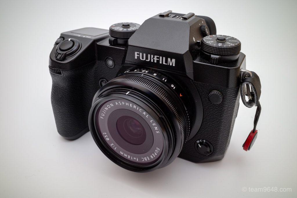 FUJIFILM X-H1 XF18mm