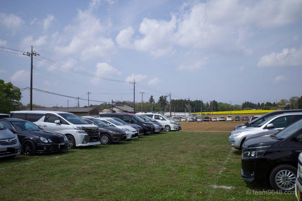 富田さとにわ耕園 駐車場