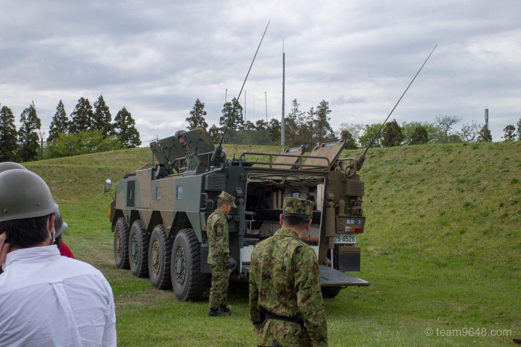 下志津駐屯地 つつじ祭り 装甲車体験搭乗