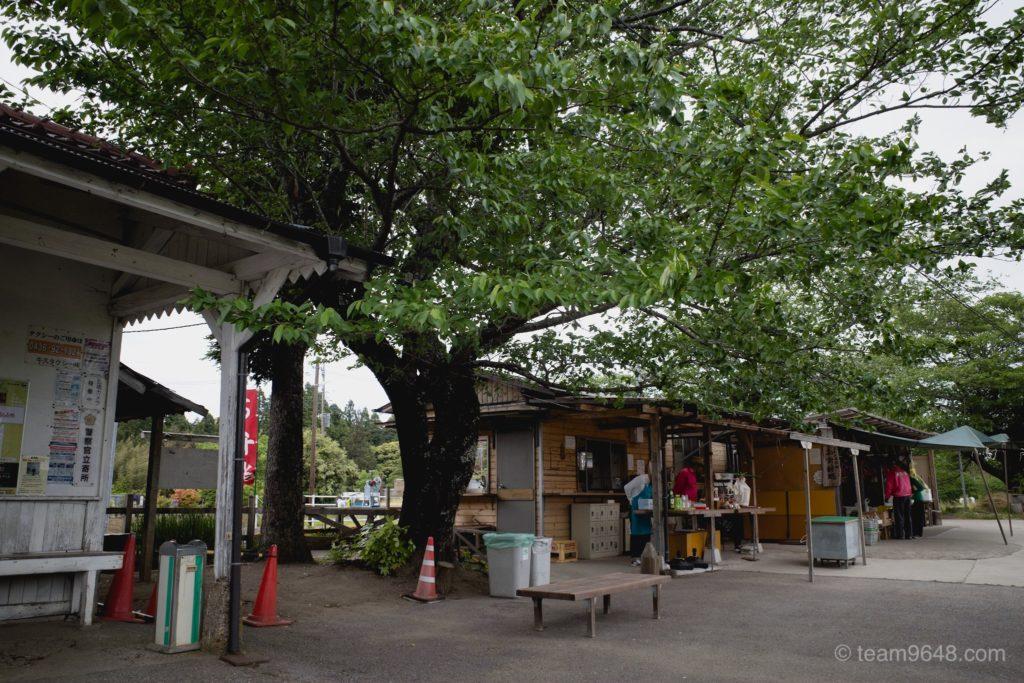 小湊鉄道 里見駅 喜動房倶楽部 里見駅駅喫茶と産直品