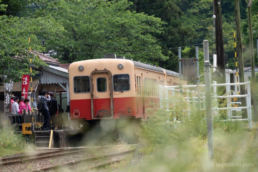 小湊鉄道 里見駅