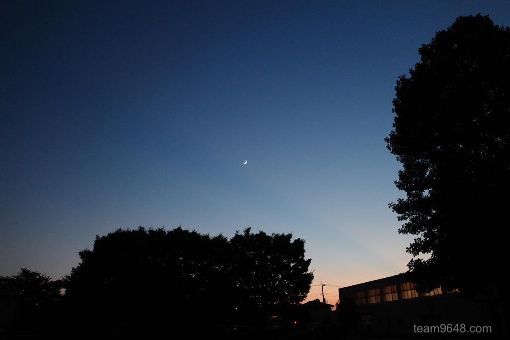 GR3 空 夕焼け