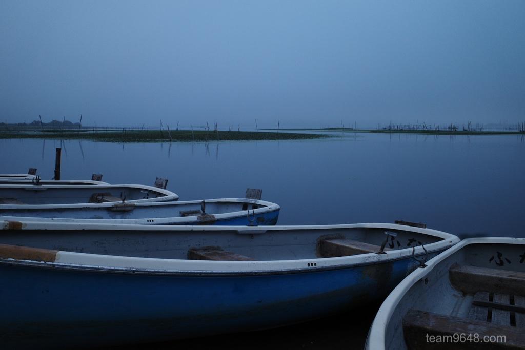 GR3 印旛沼 曇り空