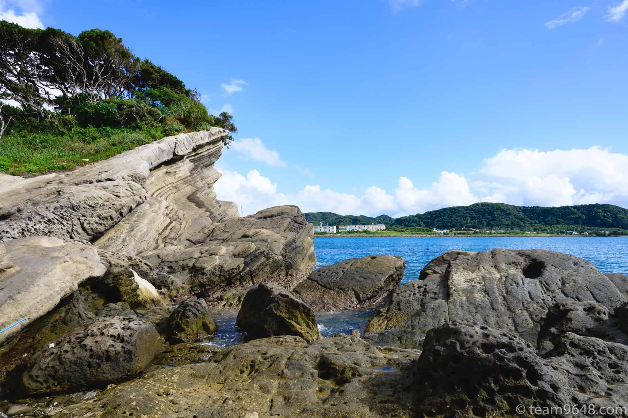 沖ノ島海水浴場 磯