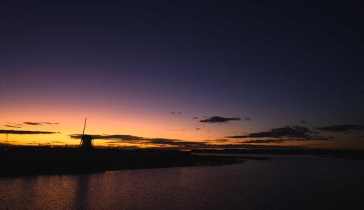 佐倉ふるさと広場でコスモスと夕日を撮った(Nikon Z6 / NIKKOR Z 24-70mm f/4)