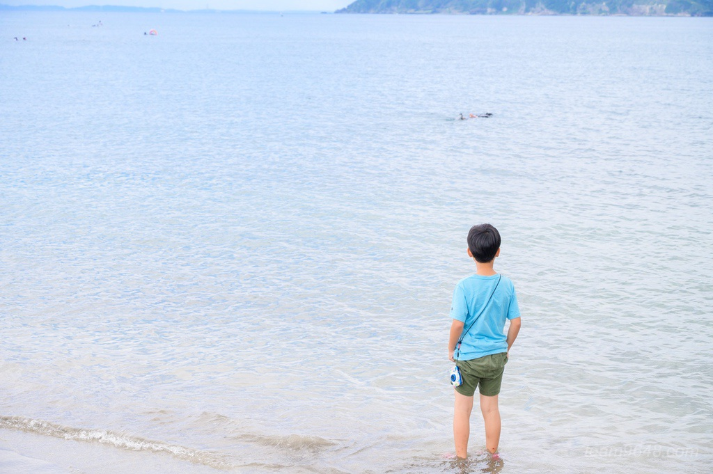 子供 海 Nikon COOLPIX W100